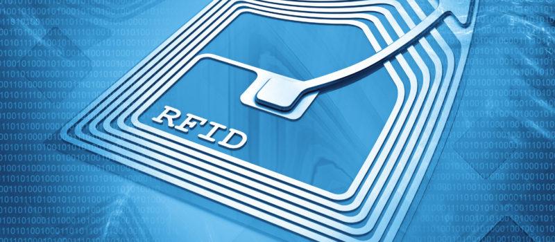 23989239 - rfid chip background